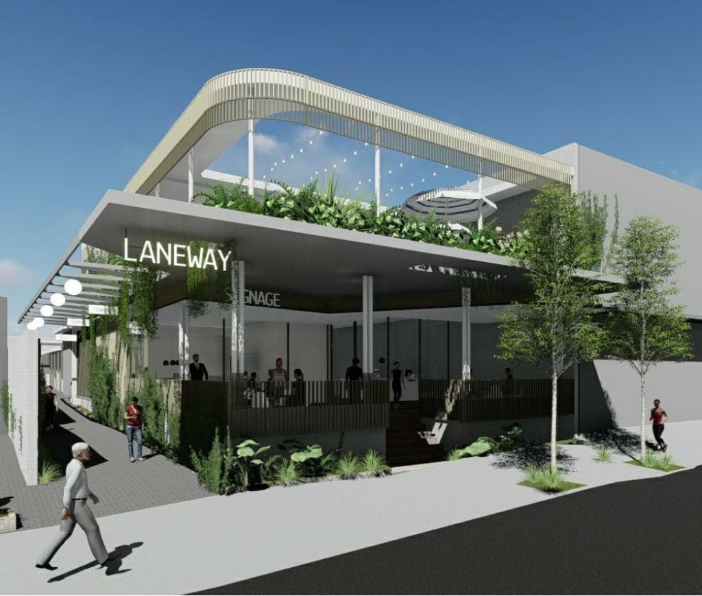 Rooftop Bar, Retail & Office – Oxford Street, Bulimba