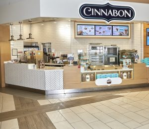 US Bakery Cinnabon – Four Stores Across Brisbane