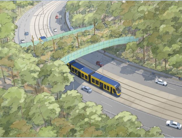 $5 Million Light Rail (Stage 4) – Gold Coast Airport, Tugan