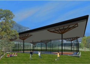Large Shade Structure – St Stephens Primary School, Algester