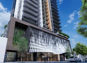 Residential Tower & Retail – Merivale Street, South Brisbane