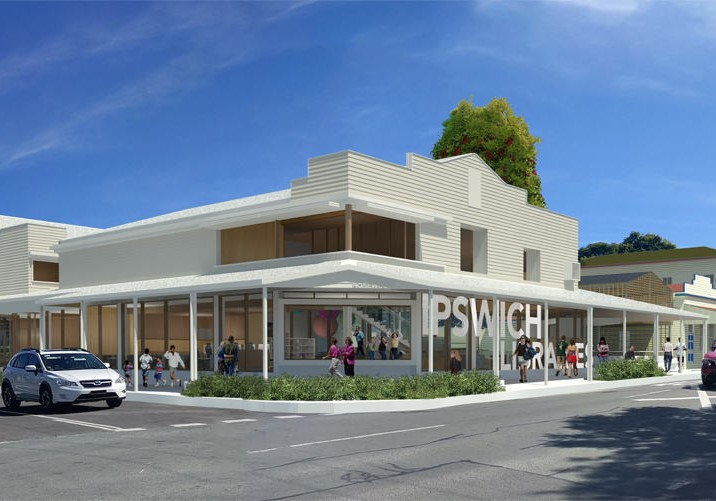 Construction begins – $7.5 Million Rosewood Library, Ipswich