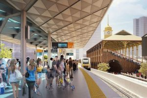 Exhibition Train Station Upgrade – RNA Showgrounds