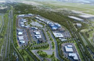 Fly through – $300 Million Auto Mall & Track – Brisbane Airport