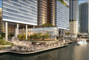 Eagle Street Pier Redevelopment Lodged, Brisbane City