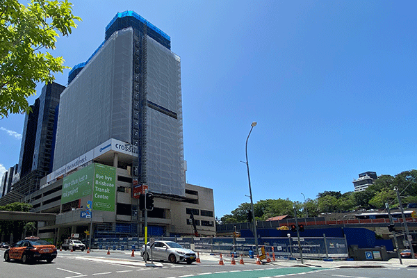 Roma Street Station Demolition – Brisbane City