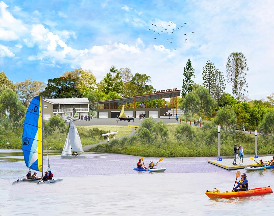 Draft Graceville Riverside Parklands – $100 Million Oxley Creek Revitalisation, Brisbane
