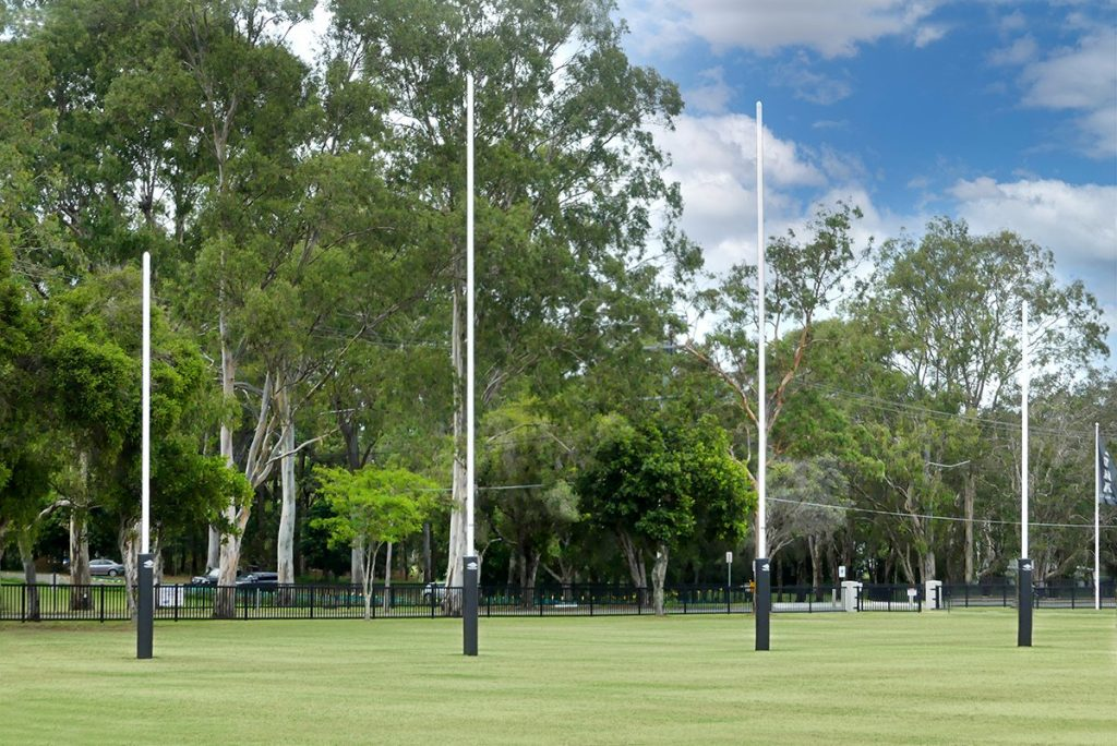 Supersize Oval Complete – Iona Catholic College, Wynnum