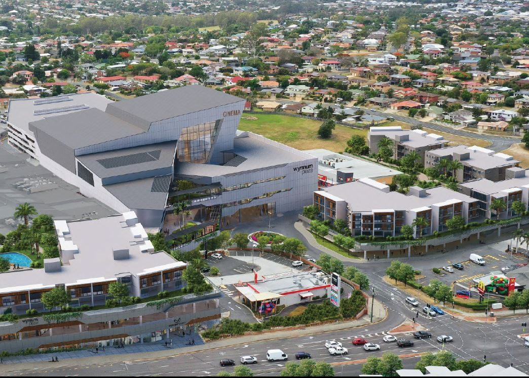 Shopping Centre Expansion & Residential Apartments - Wynnum Plaza