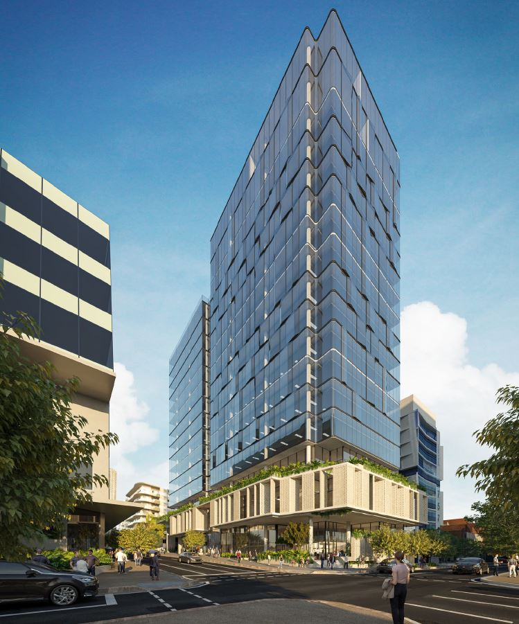 Commercial Office Building – Morgan Street & McLachlan Street, Fortitude Valley