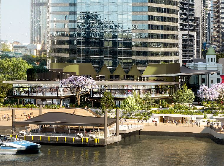 Waterfront Place Retail & Dining Precinct – Mary Street, Brisbane CBD