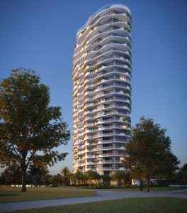Residential Tower, Retail & Park – Skyring Terrace, Newstead