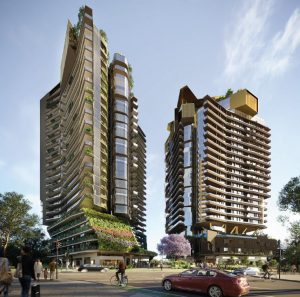 Residential Towers & Public Park – Montague Road, West End