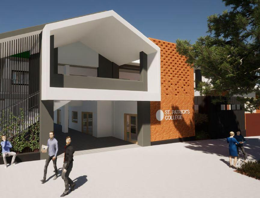Building Extensions – St Patrick's College, Shorncliffe