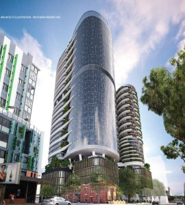 Mixed Use Office & Residential Towers – St Pauls Terrace, Fortitude Valley
