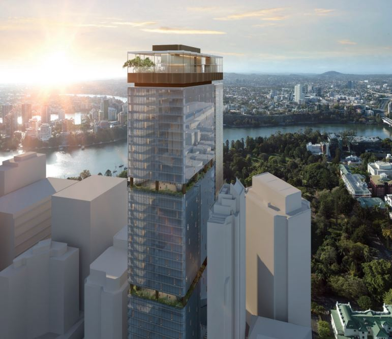 Office Tower – Mary Street, Brisbane City