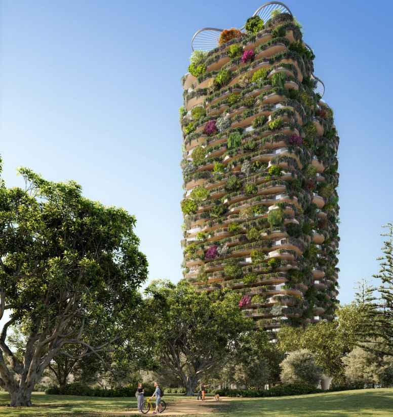 'Urban Forest' Residential Tower – Merivale Street, South Brisbane