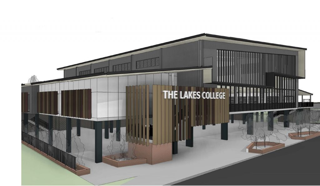 New Sports Hall & Classrooms – The Lakes College, North Lakes