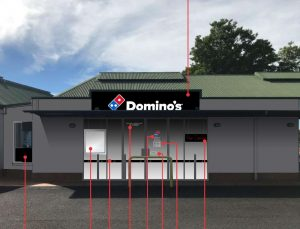 Domino's Pizza Shop – Logan Road, Greenslopes