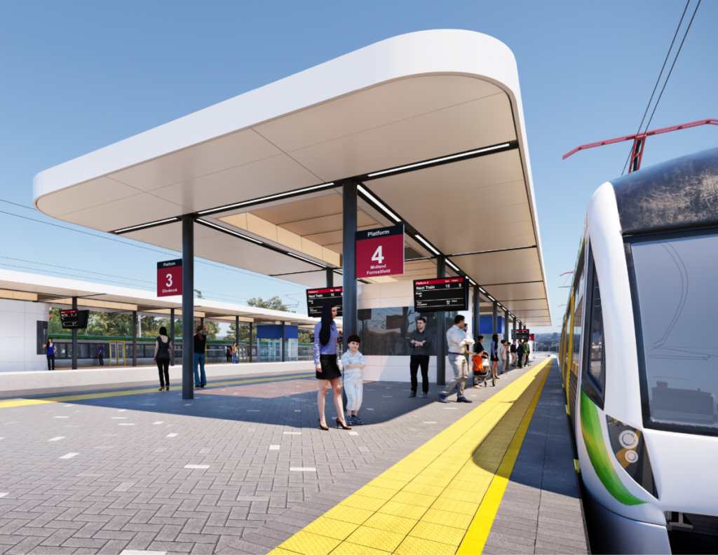 $253 Million Station Upgrade – Bayswater, Perth