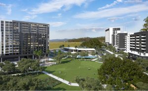 Four Residential Towers & Parkland (Stage 1A) – Springfield Central, Ipswich