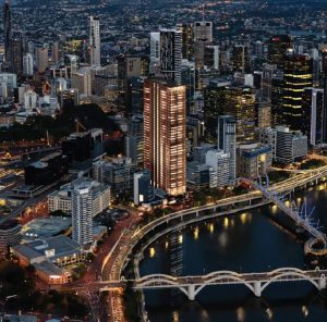 Commercial Office Tower & Mixed Uses – North Quay, Brisbane City
