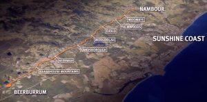 $550 Million (Stage 1) Rail Corridor Upgrade – Beerburrum to Nambour, Sunshine Coast