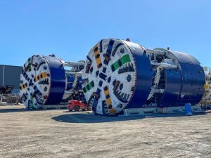 Tunnel Boring Machines Ready for 2021 – Cross River Rail, Brisbane