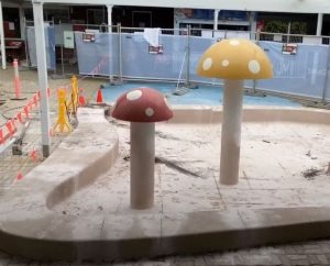Construction Begins – $2.65 Million Splash Park,  Nambour Aquatic Centre
