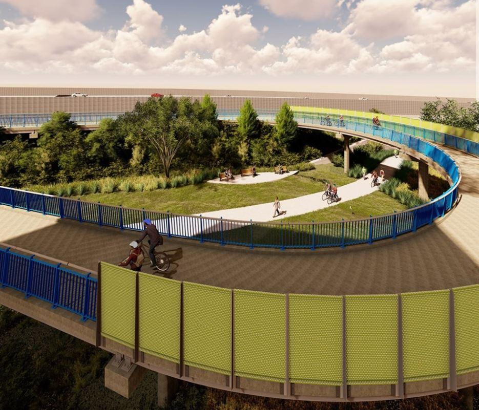 $14.5 Million Veloway Cycle Bridge – Woolloongabba