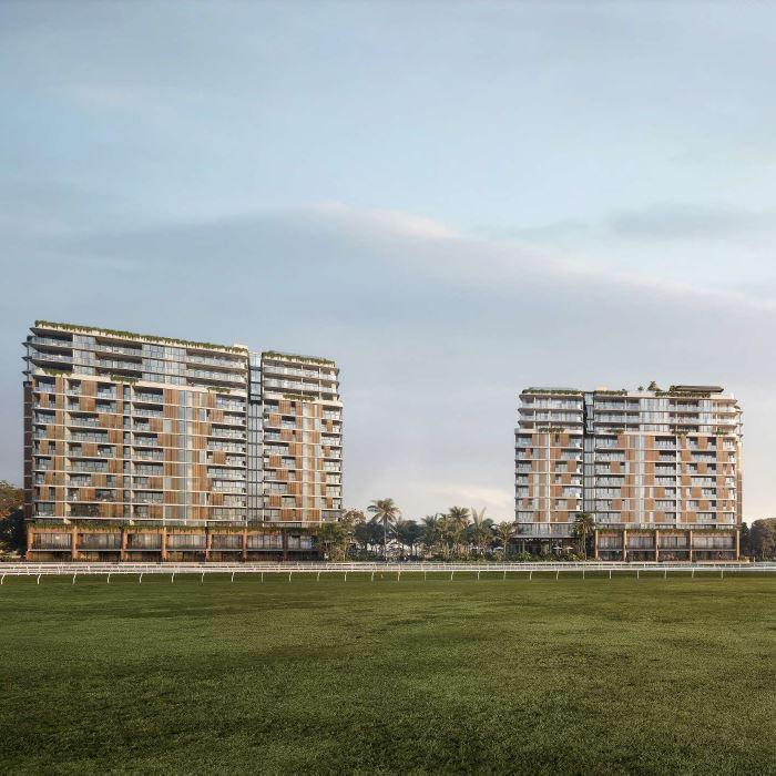 Twin Residential Towers – Eagle Farm Racecourse, Ascot