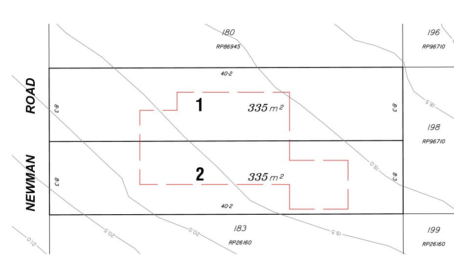 Proposed Small lots – 311 Newman Road, Geebung