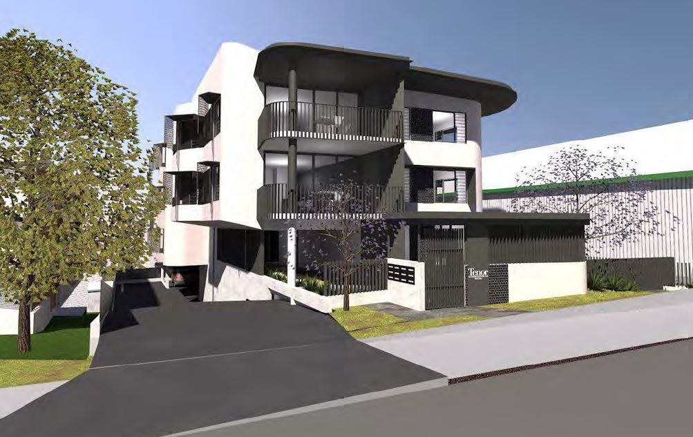 Multiple Dwellings – 21 Upper Clifton Terrace and 28 Lower Clifton Terrace, Red Hill.