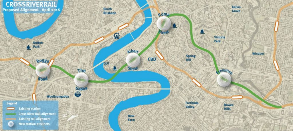 Cross River Rail – High Priority Project