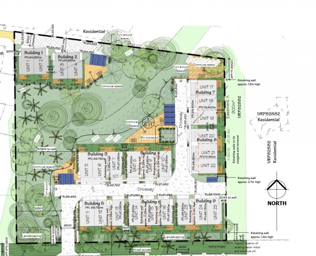 Multiple Dwellings proposed at 181 Upper Kedron Road, Ferny Grove