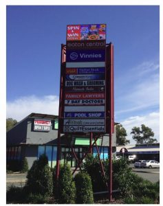 Advertising Device for Shopping Centre – 6-12 Bunya Park Drive, Eatons Hill