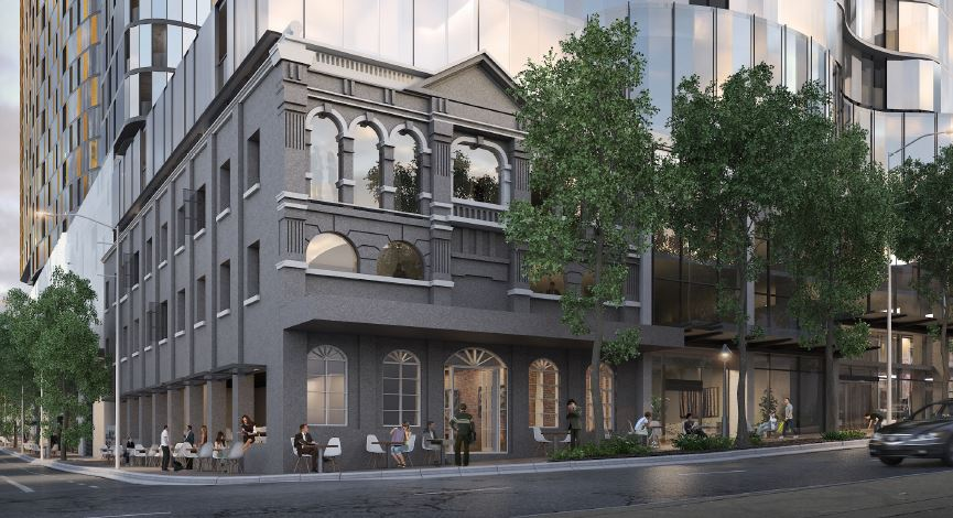 Boutique Hotel, Restaurant and Bar – 211 Brunswick Street and Alfred Street, Fortitude Valley
