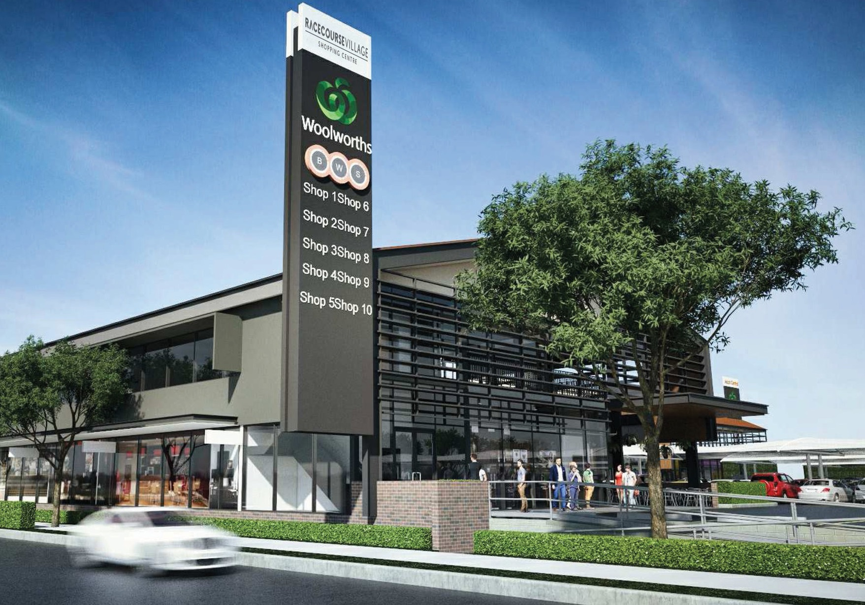 New Stores Announced - Racecourse Village, Nudgee Road, Ascot