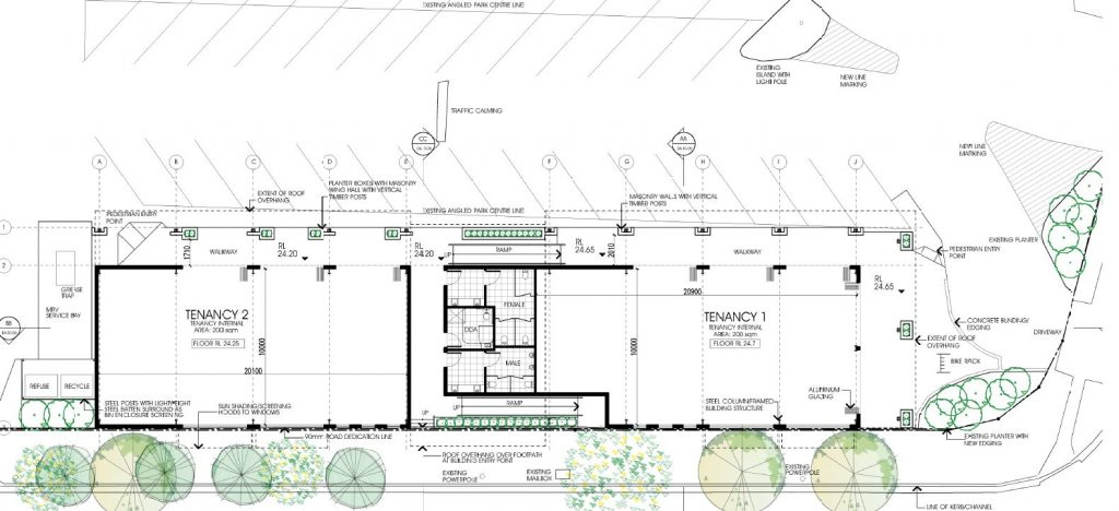 'Sue's Korner' Shopping Centre Extension – 2126 to 2128 Sandgate Rd, Boondall
