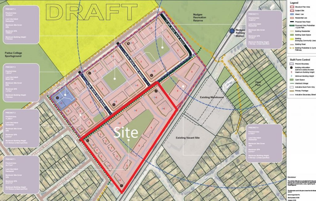 DRAFT Structure Plan-site
