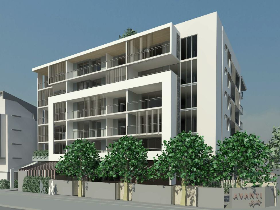 Approved – Multiple Dwellings, Childcare Centre and Café – 26, 28 & 30 Lawley Street and Gallagher Terrace, Kedron