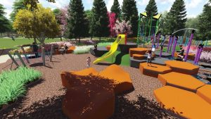 Adventure Playground Upgrade Completed – Pine Rivers Park, 125 Gympie Road, Strathpine
