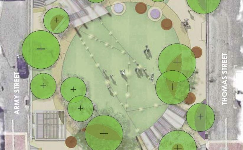 New 'Urban Common' Park – 33 Thomas Street and 68 Vulture Street, West End
