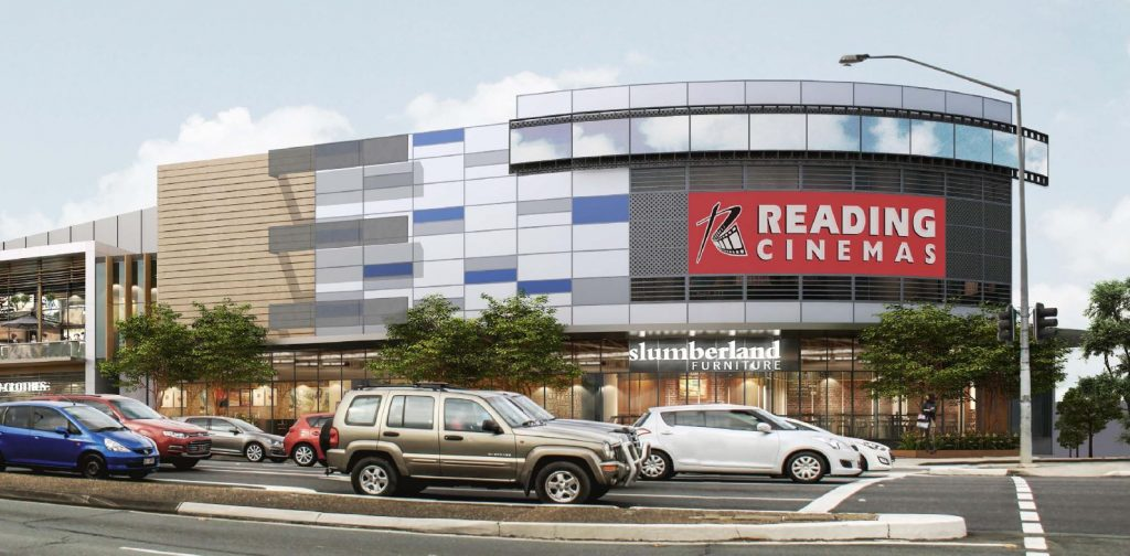 New Cinema, Retail and Car Parking – Approved Extension – Newmarket Village Shopping Centre