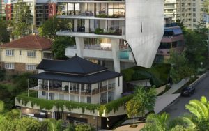 High Density Residential Tower and Cafe – 11 Thornton Street, Kangaroo Point