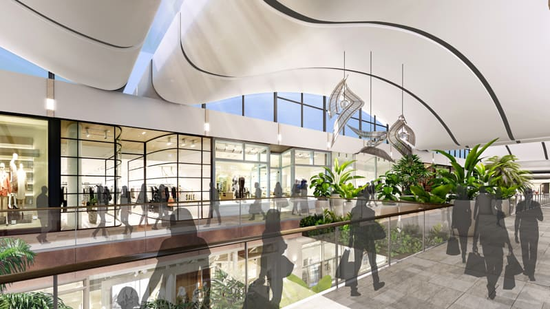Gallery Mall Opening - Westfield Chermside Shopping Centre - Stage 6 Upgrades