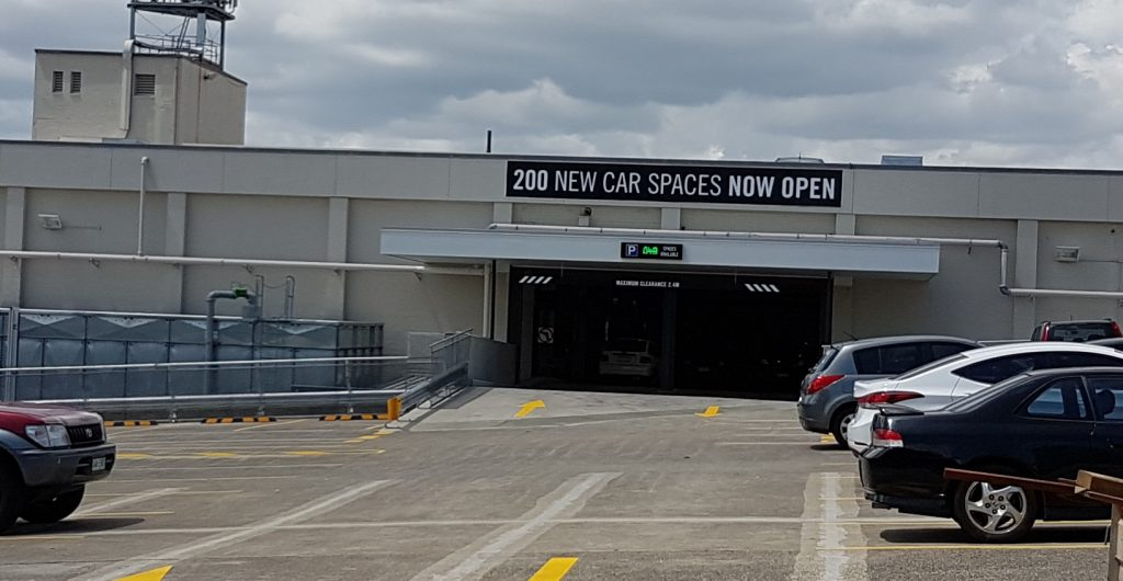 200 New Car Parks and Refurbishments – Toombul Shopping Centre