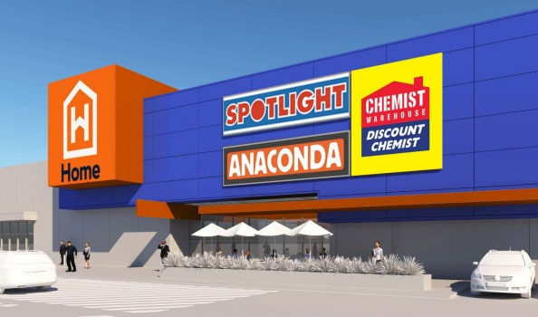 Retail Centre - Refurbished Masters Home Improvement Store, Richlands