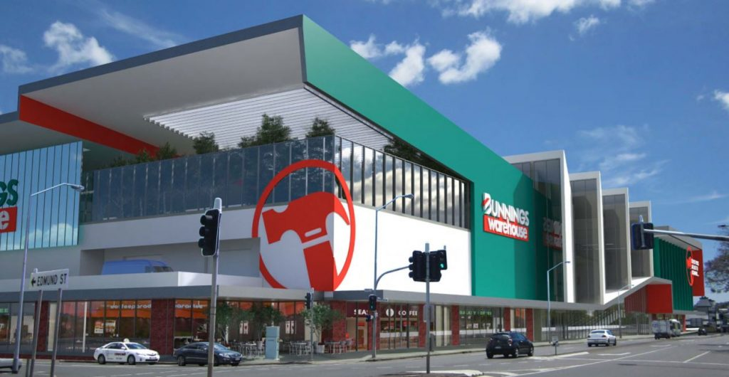 Opening March 2019 – $112 Million Bunnings Warehouse, Newstead