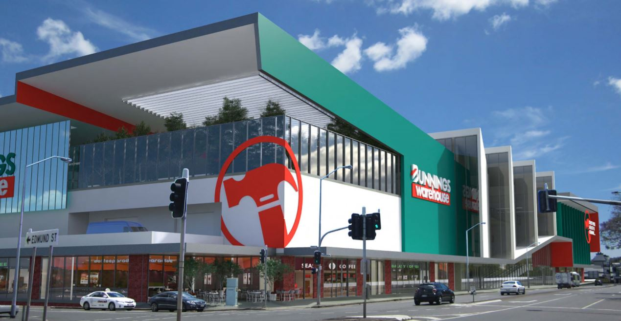 Opening March 2019 - $112 Million Bunnings Warehouse, Newstead